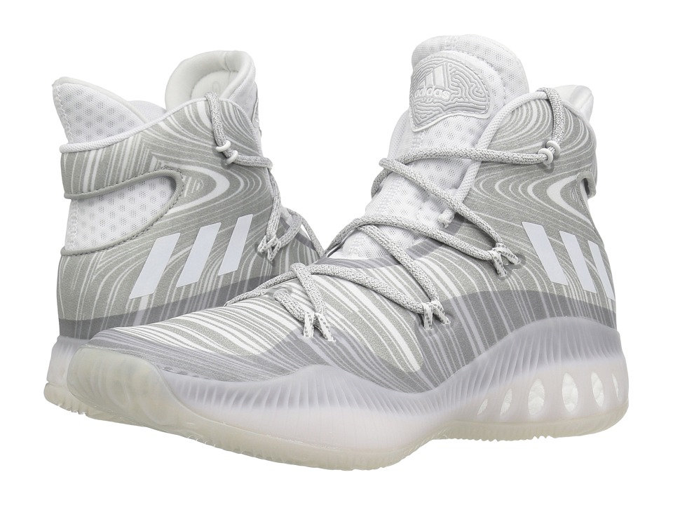 adidas Crazy Explosive (White/MGH Solid Grey) Men
