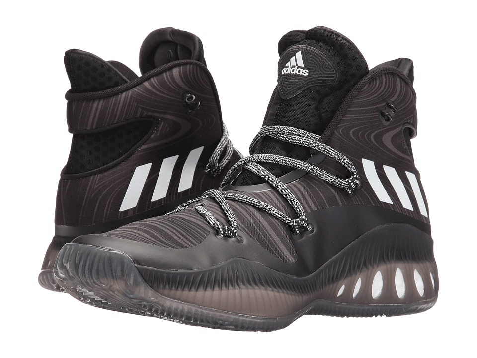 adidas Crazy Explosive (Black/White/Utility Black) Men