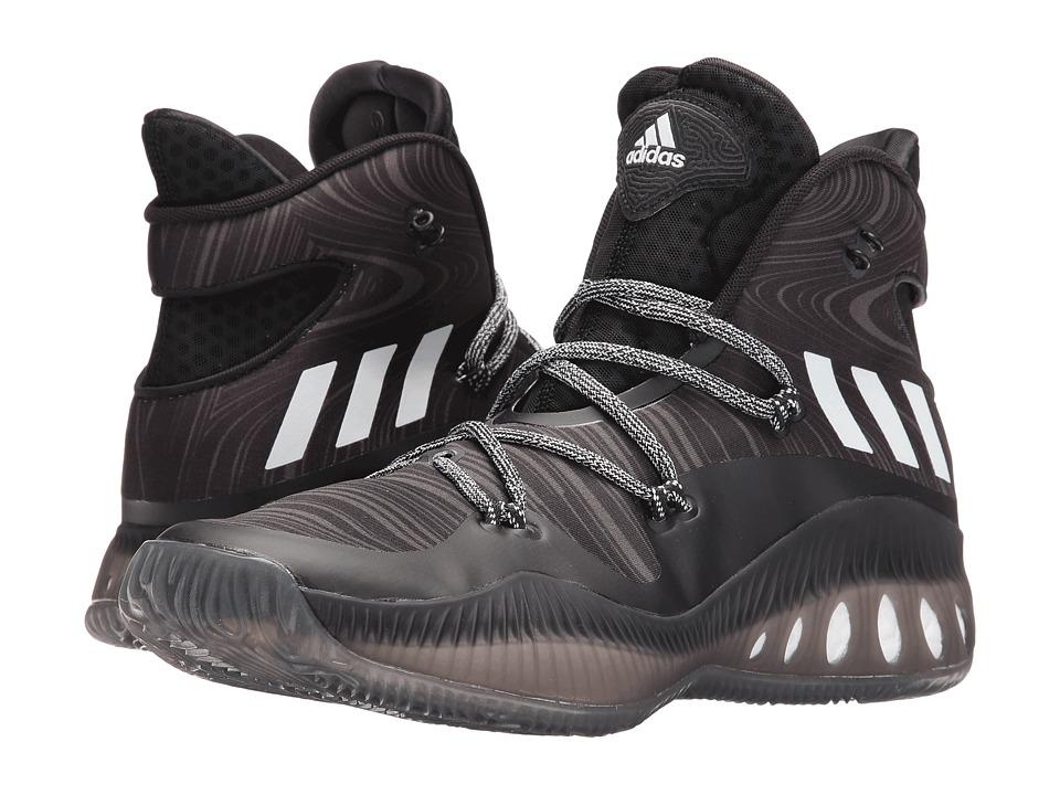 adidas Crazy Explosive (Black/White/Utility Black) Men