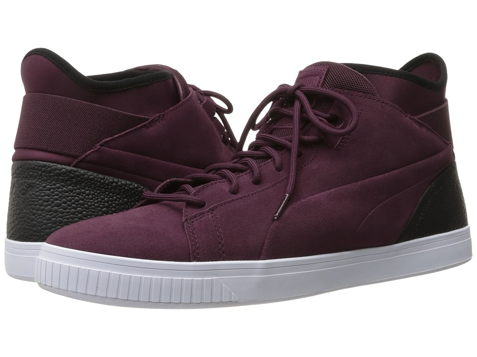 PUMA - Play BC (Wine Tasting/Puma Black) Men's Shoes
