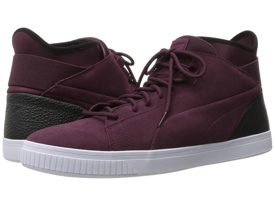 PUMA - Play BC (Wine Tasting/Puma Black) Men's Shoes