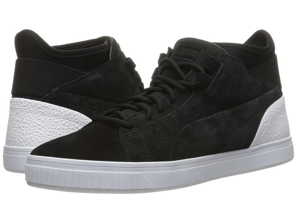 PUMA - Play BC (Puma Black/Puma White) Men's Shoes