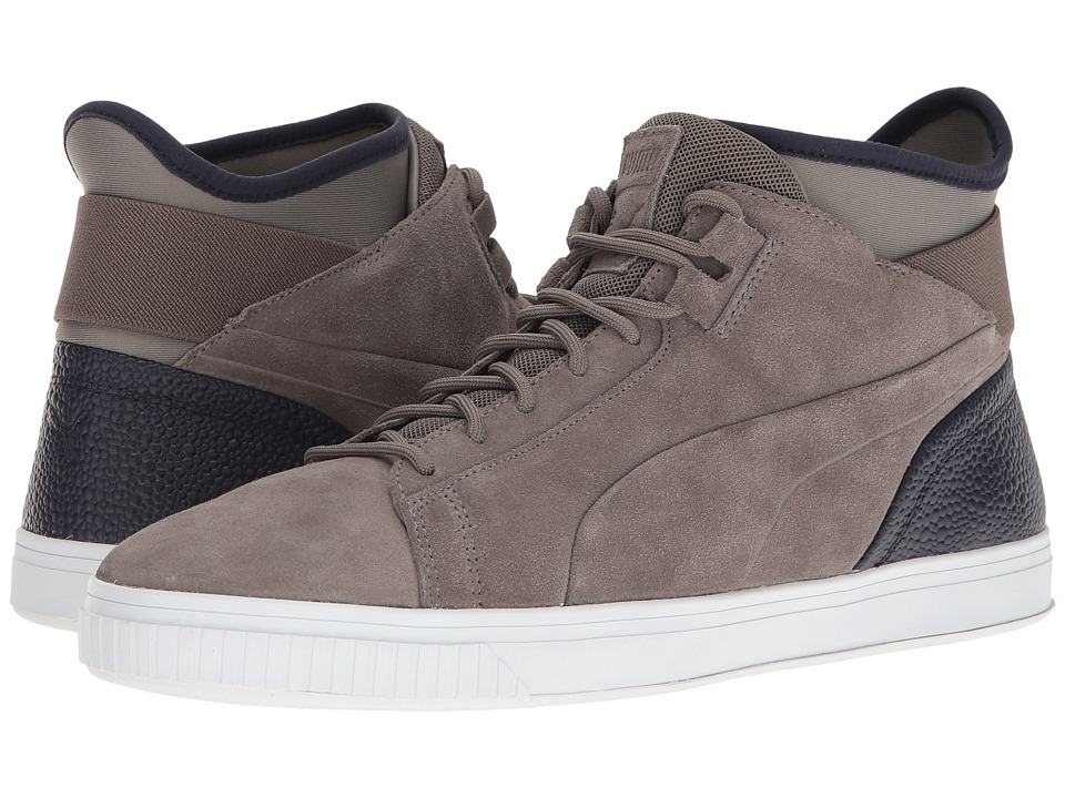 PUMA - Play BC (Steel Gray/Peacoat) Men's Shoes