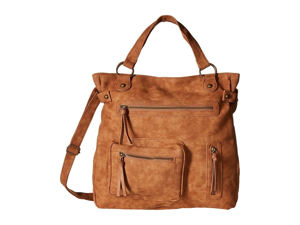 Gabriella Rocha - Raylee Multi-Pocket Tote (Cognac) Backpack Bags