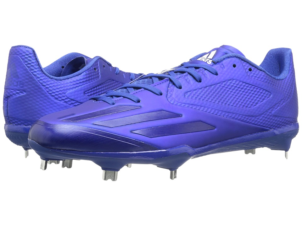 adidas - Adizero Afterburner 3 (Collegiate Royal/White) Men's Cleated Shoes