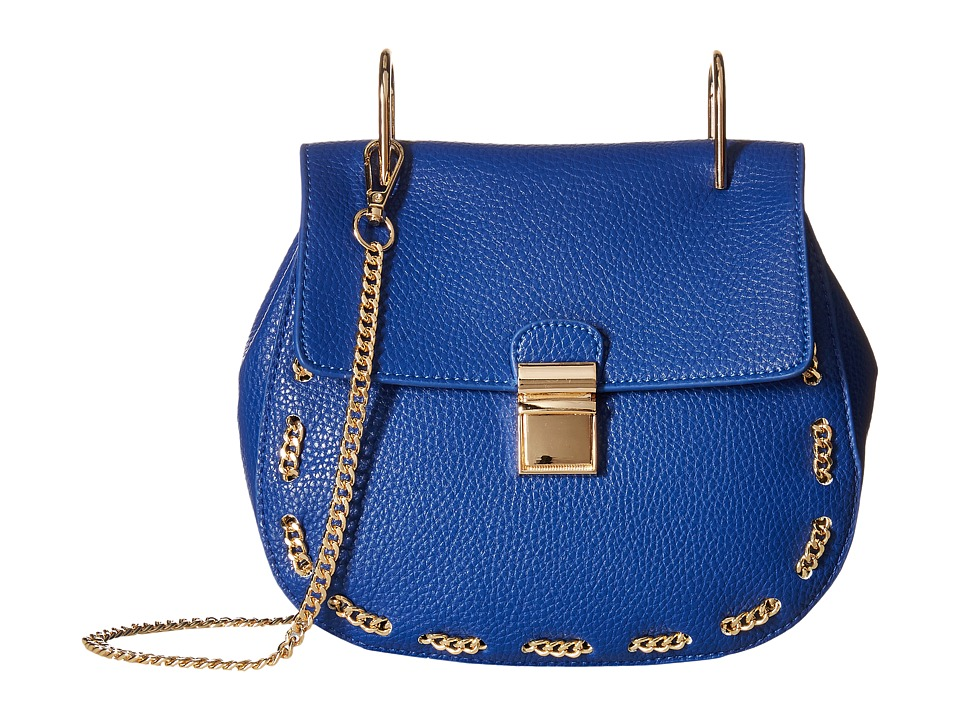 Gabriella Rocha - Saoirse Crossbody with Chain Detail (Royal) Cross Body Handbags