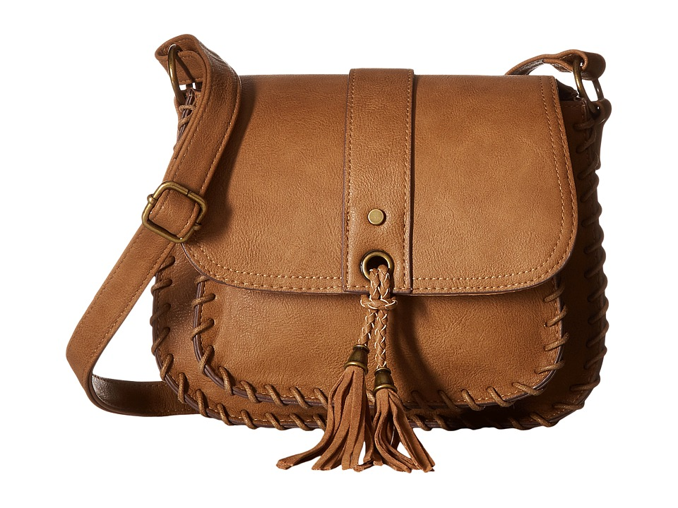 Gabriella Rocha - Shea Whipstitch Crossbody Purse (Sable) Cross Body Handbags