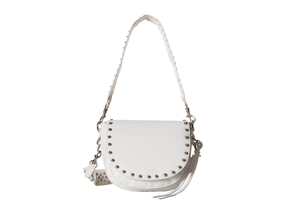 Gabriella Rocha - Scarlette Crossbody Purse with Studs (White) Cross Body Handbags