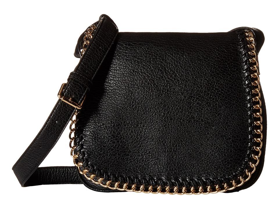 Gabriella Rocha - Sawyer Crossbody with Chain Detail (Black) Cross Body Handbags