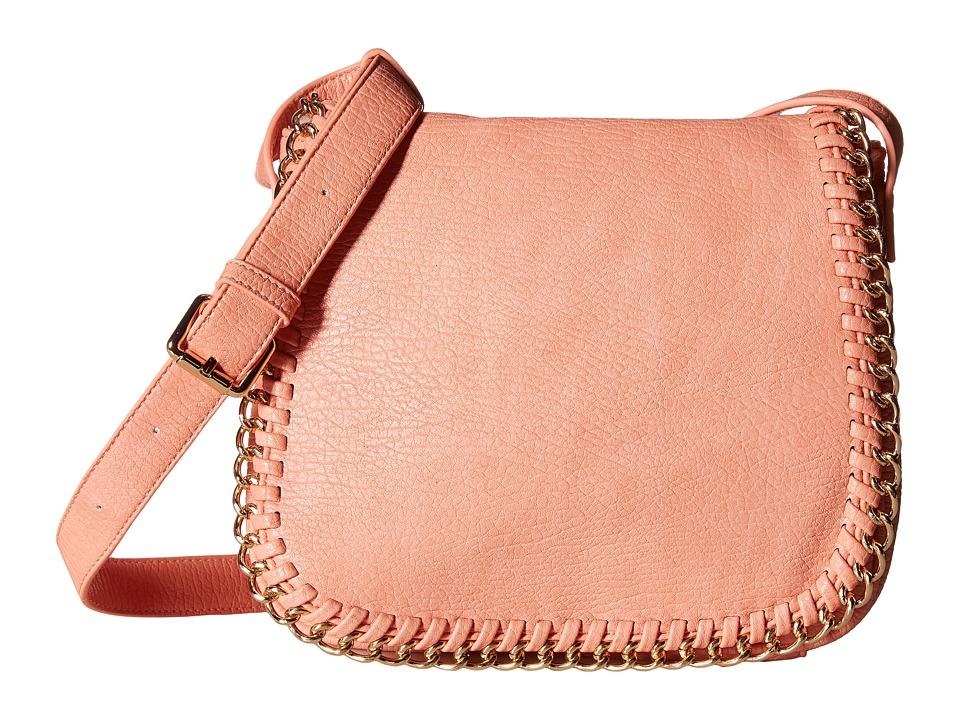 Gabriella Rocha - Sawyer Crossbody with Chain Detail (Blush) Cross Body Handbags