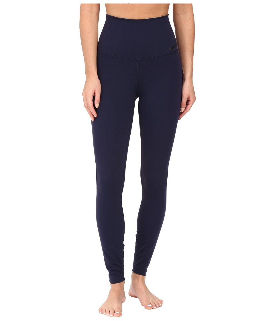 Nike - Power Legendary High Rise Training Tight (Obsidian/Black) Women's Casual Pants