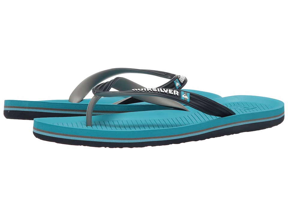Quiksilver - Haleiwa (Blue/Blue/Grey) Men