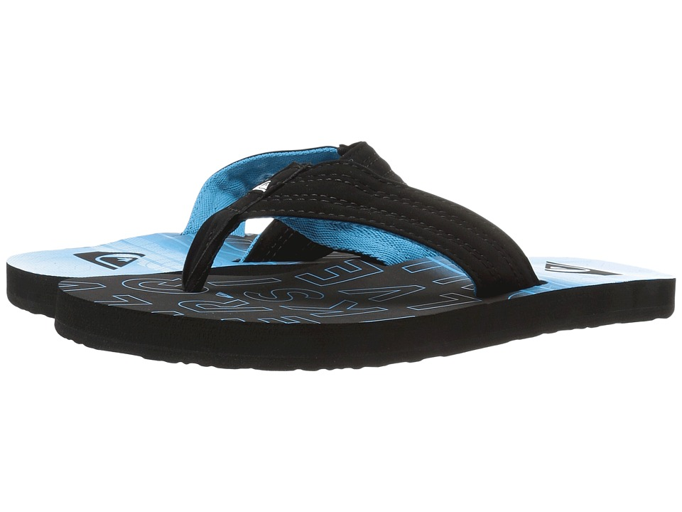 Quiksilver - Basis (Black/Blue/Black) Men's Sandals