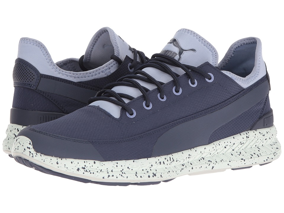 PUMA - Ignite Sock Winter Tech (Peacoat/Tempest) Men's Shoes