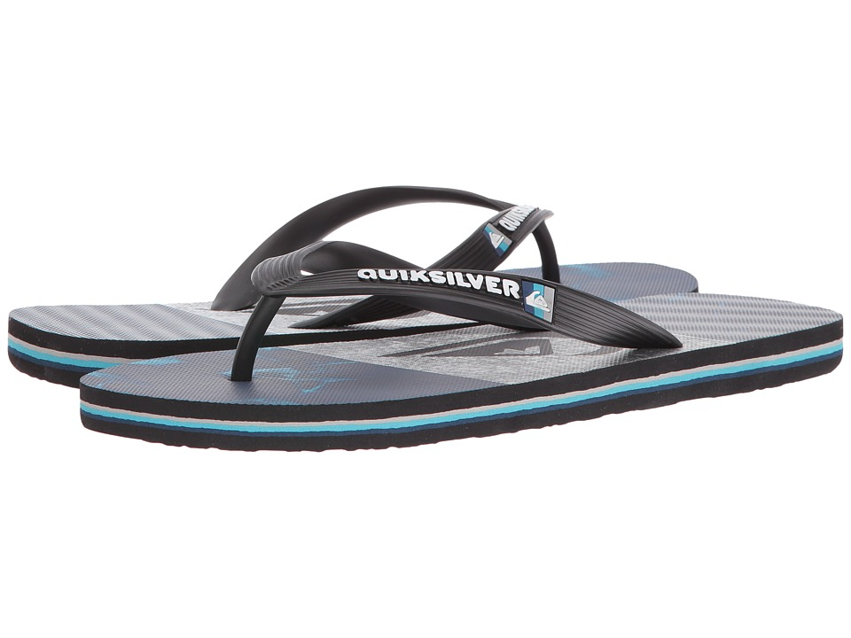 Quiksilver - Molokai Tijuana (Black/Blue/Grey) Men's Sandals
