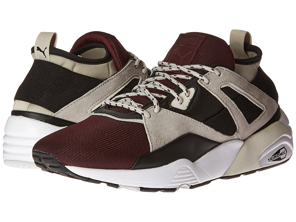 PUMA - BOG Sock Elemental (Wine Tasting/Puma Black) Men's Shoes