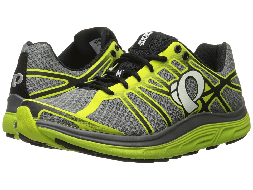Pearl Izumi - EM Road M 3 v2 (Smoked Pearl/Lime Punch) Men's Running Shoes