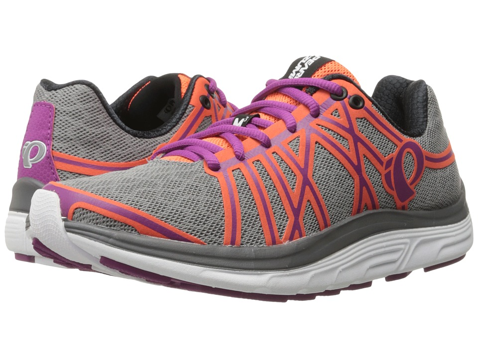 Pearl Izumi - EM Road M 3 v2 (Smoked Pearl/Clementine) Women's Running Shoes