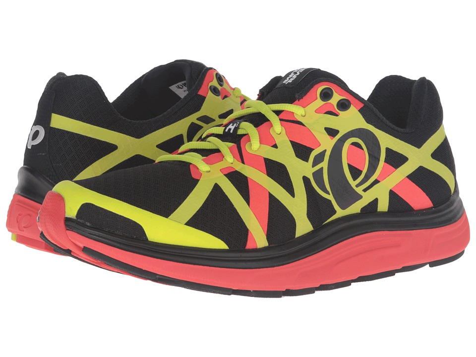 Pearl Izumi - EM Road H 3 v2 (Black/Grenadine) Men's Running Shoes
