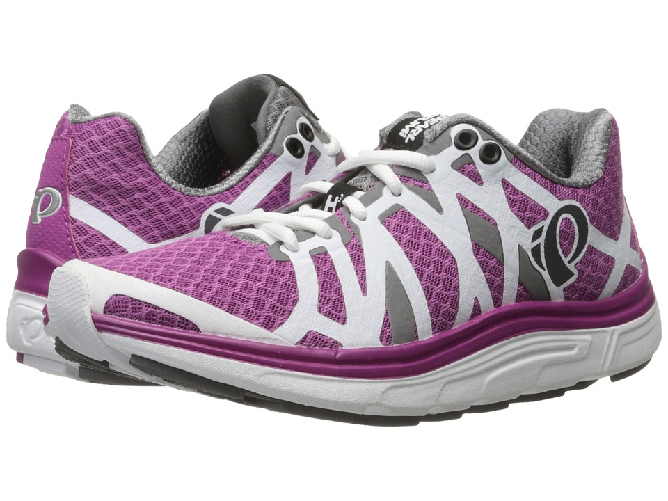 Pearl Izumi - EM Road H 3 v2 (Smoked Pearl/Purple Wine) Women's Running Shoes