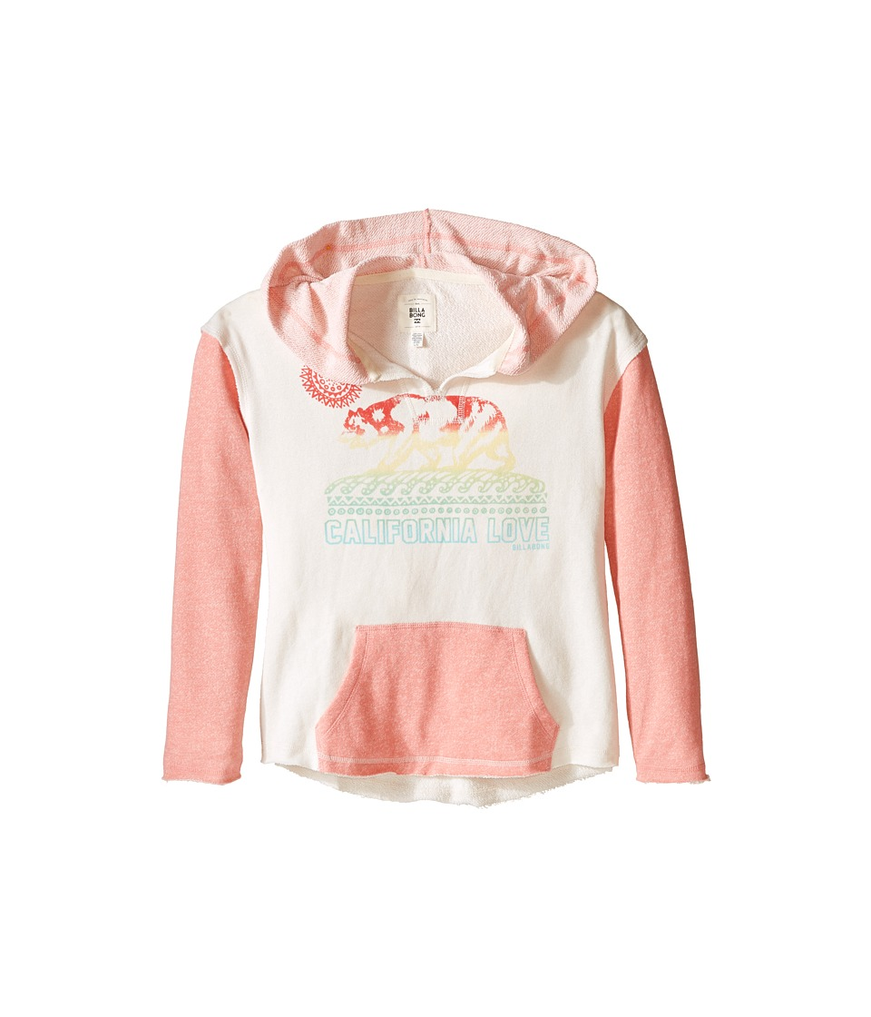Billabong Kids - Days Apart Pullover (Little Kids/Big Kids) (Melon) Girl's Long Sleeve Pullover