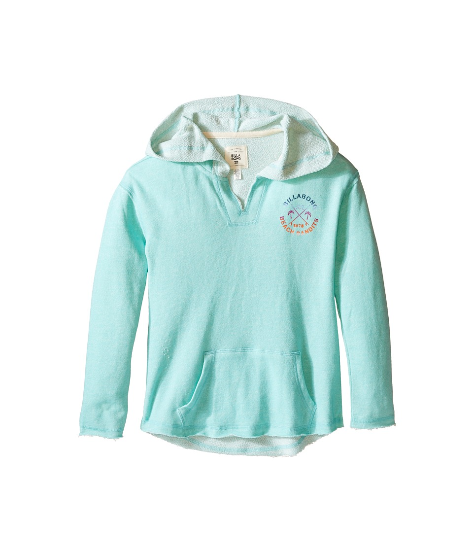 Billabong Kids - Star Sight Pullover (Little Kids/Big Kids) (Aqua Sea) Girl's Long Sleeve Pullover