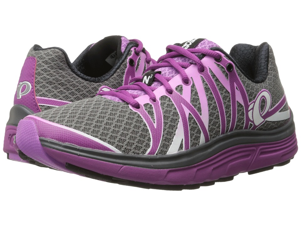 Pearl Izumi - EM Road N 3 (Smoked Pearl/Purple Wine) Women's Running Shoes
