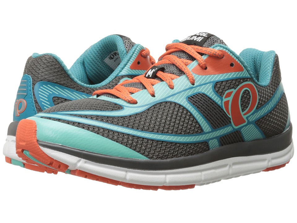 Pearl Izumi - EM Road M2 v3 (Smoked Pearl/Aqua Mint) Women's Running Shoes