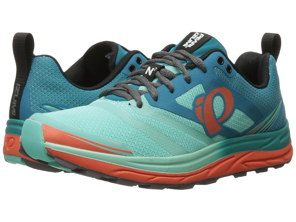 Pearl Izumi - EM Trail N 2 v3 (Enamel Blue/Aqua Mint) Women's Running Shoes