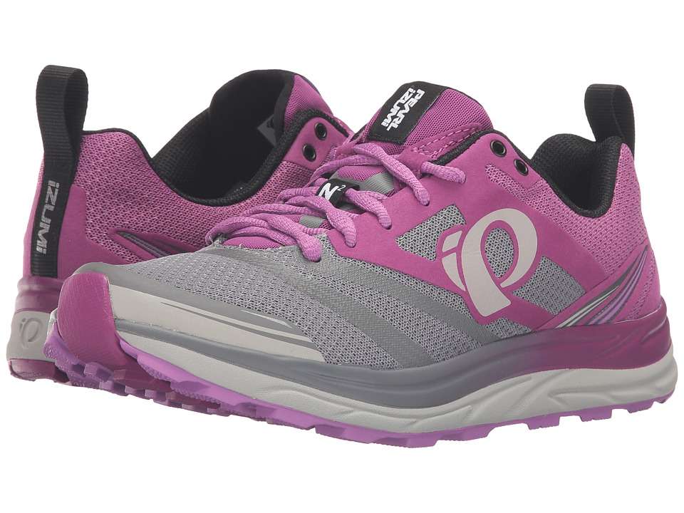 Pearl Izumi - EM Trail N 2 v3 (Purple Wine/Smoked Pearl) Women's Running Shoes