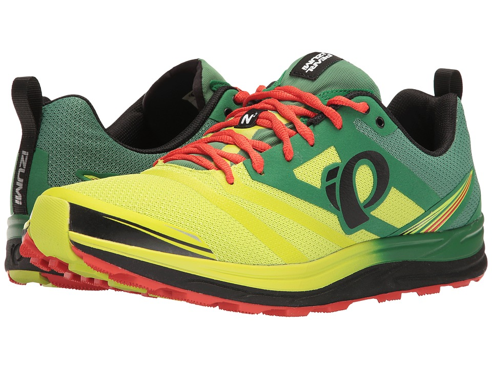 Pearl Izumi - EM Trail N 2 v3 (Amazon/Lime) Men's Running Shoes