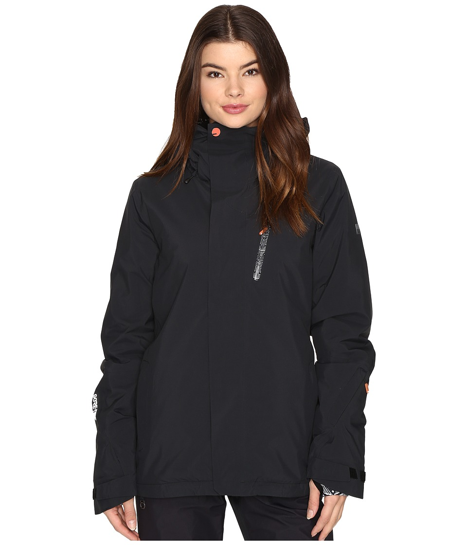 Roxy - Wilder Jacket (True Black) Women's Coat