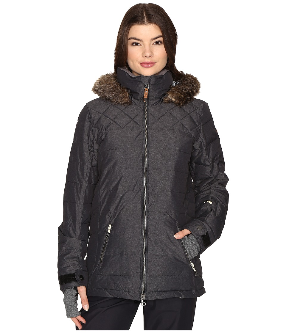 Roxy - Quinn Jacket (True Black) Women's Coat