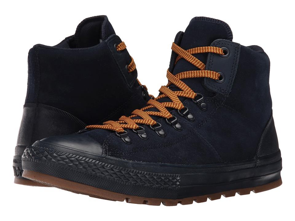 Converse Chuck Taylor All Star Suede Street Hiker (Obsidian/Obsidian/Gum) Men