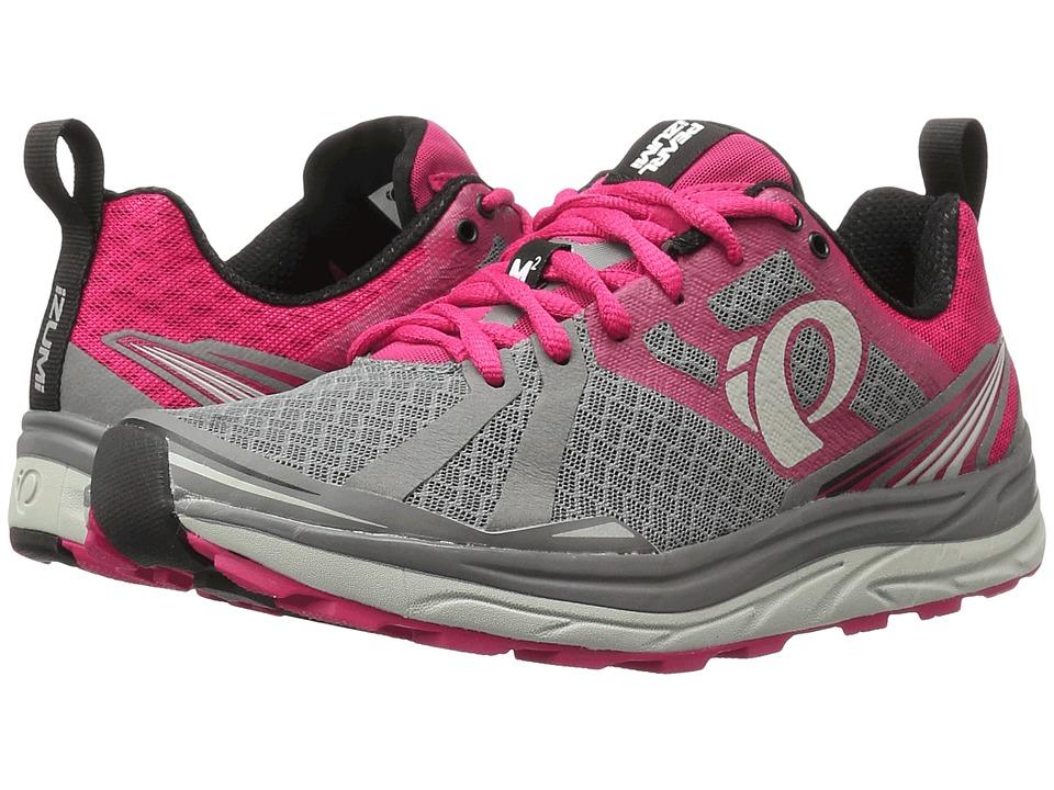 Pearl Izumi - EM Trail M 2 v3 (Smoked Pearl/Bright Rose) Women's Running Shoes