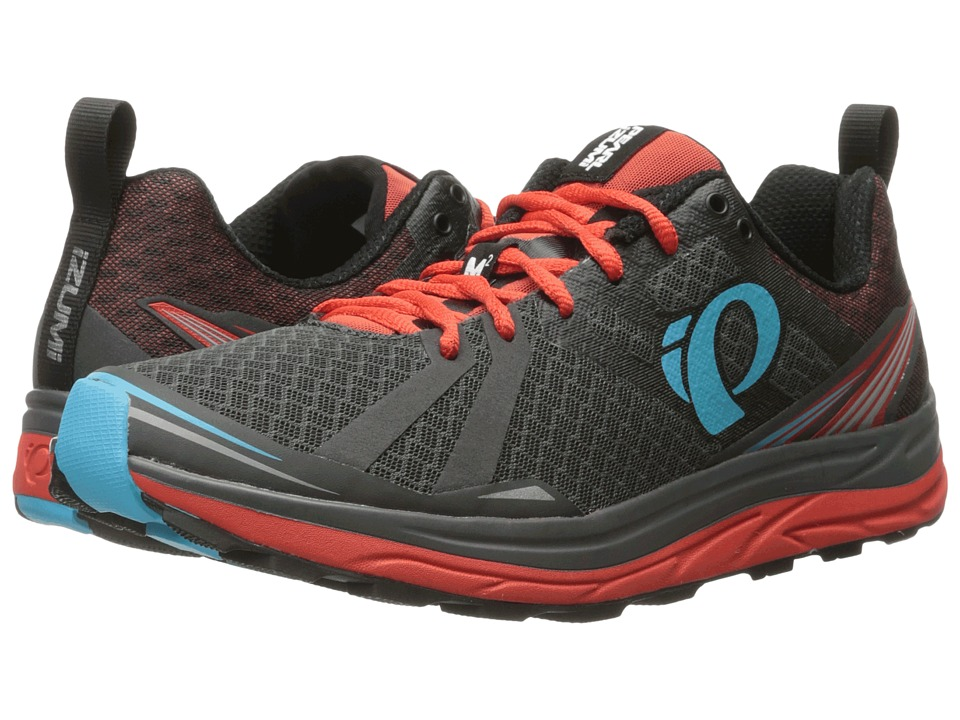Pearl Izumi - EM Trail M 2 v3 (Shadow Grey/Grenadine) Men's Running Shoes
