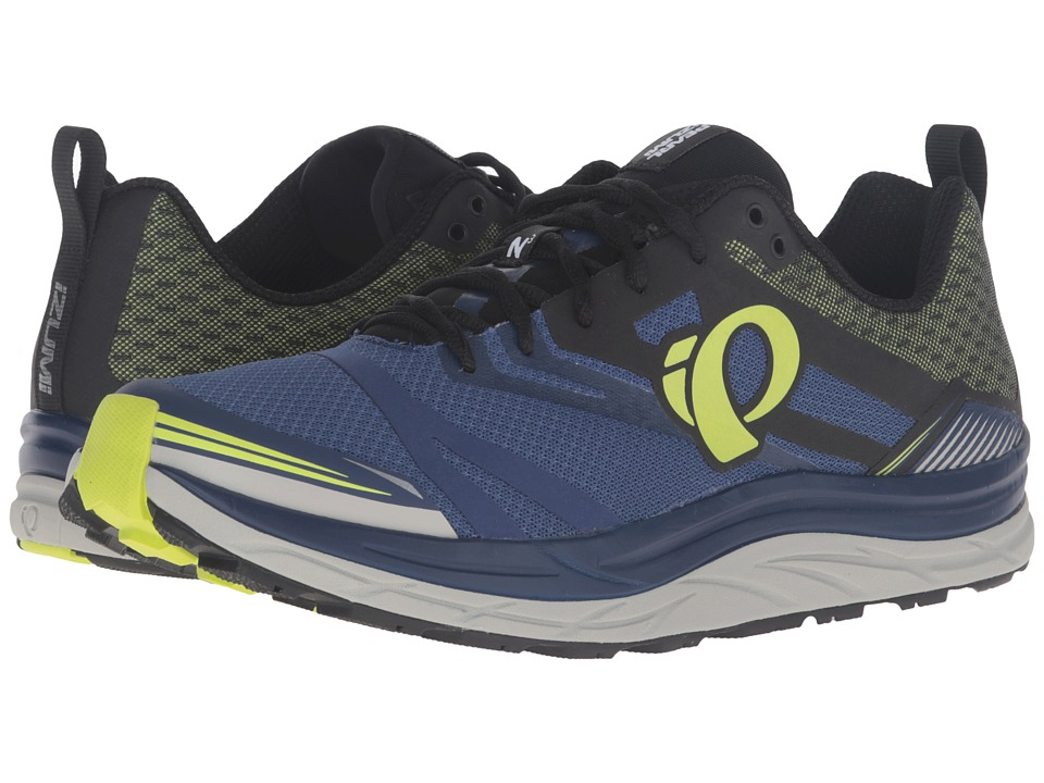 Pearl Izumi - EM Trail N 3 (Blue Depths/Lime Punch) Men's Running Shoes