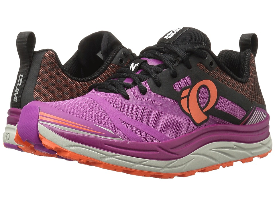 Pearl Izumi EM Trail N3 (Purple Wine/Clementine) Women