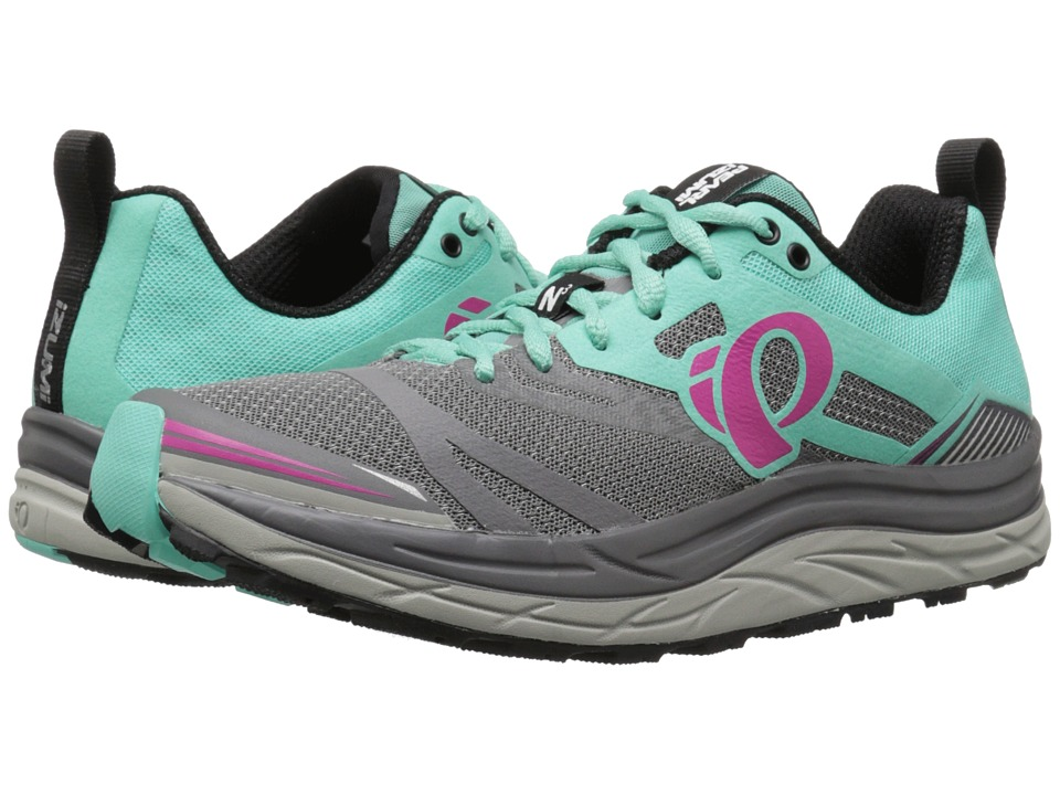 Pearl Izumi - EM Trail N3 (Smoked Pearl/Aqua Mint) Women's Running Shoes