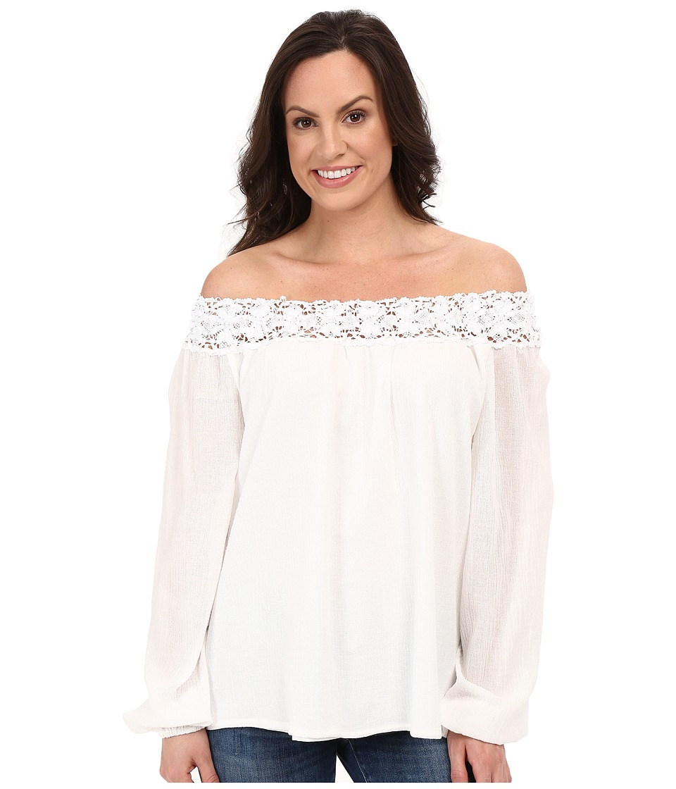 Union of Angels - Christa Top (White) Women's Blouse