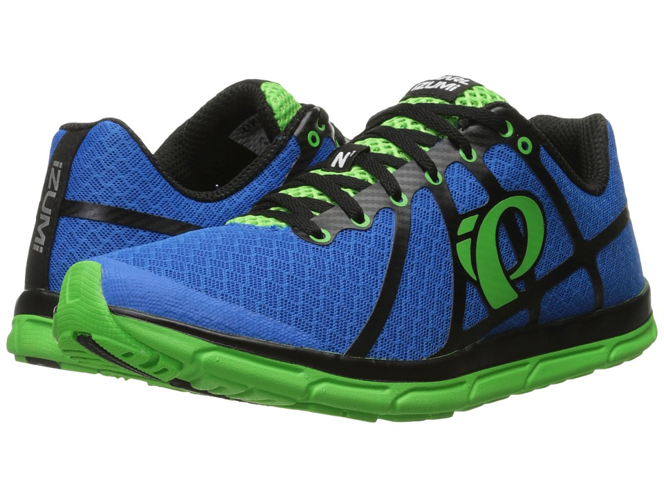 Pearl Izumi - Em Road N 1 v2 (Fountain Blue/Screaming Green) Men's Running Shoes
