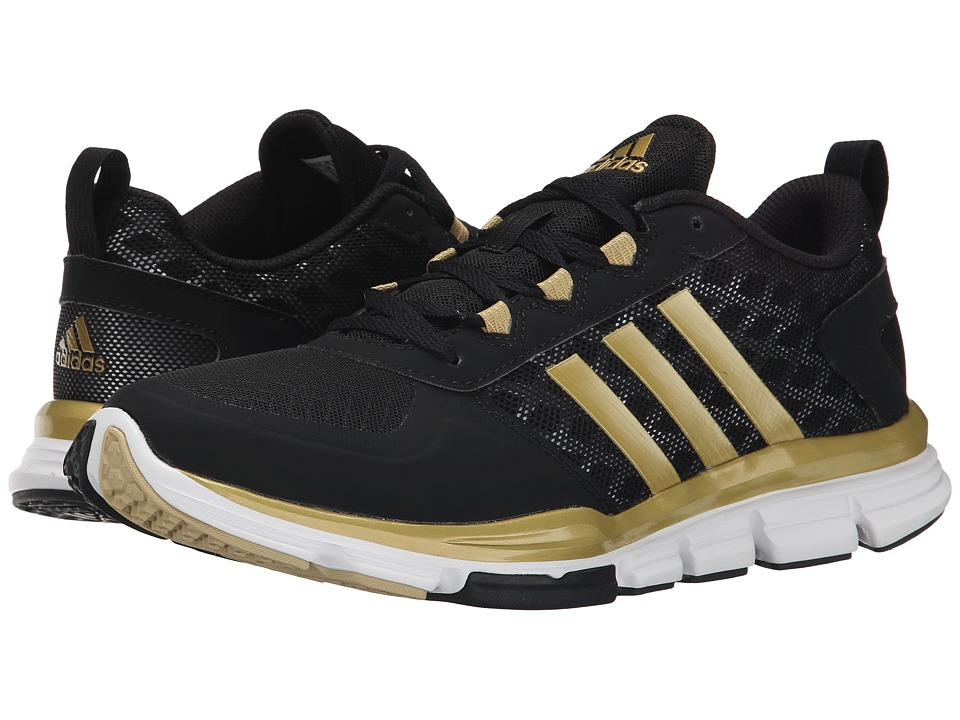 adidas - Speed Trainer 2 (Black/Gold Metallic) Running Shoes