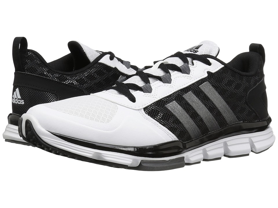 adidas - Speed Trainer 2 (Black/Carbon Metallic/White) Running Shoes