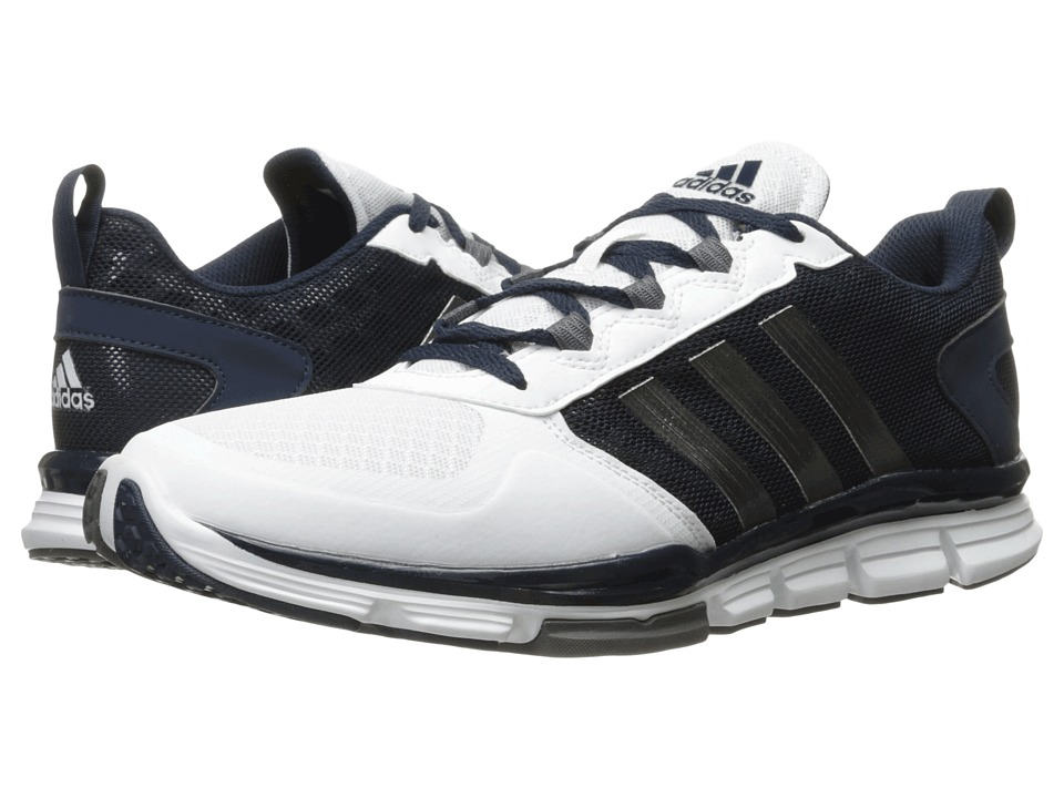adidas - Speed Trainer 2 (Collegiate Navy/Carbon Metallic/White) Running Shoes