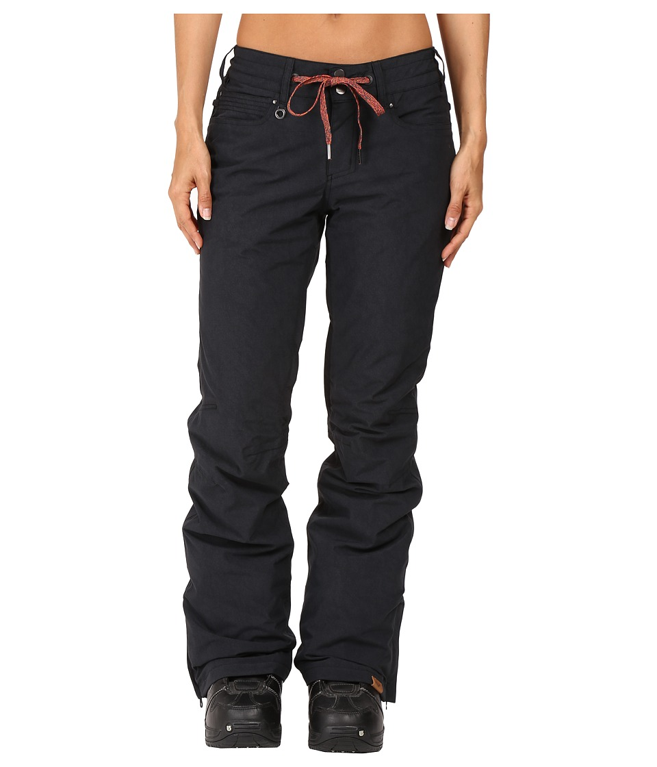 Roxy - Woodrun Pant (True Black) Women's Casual Pants