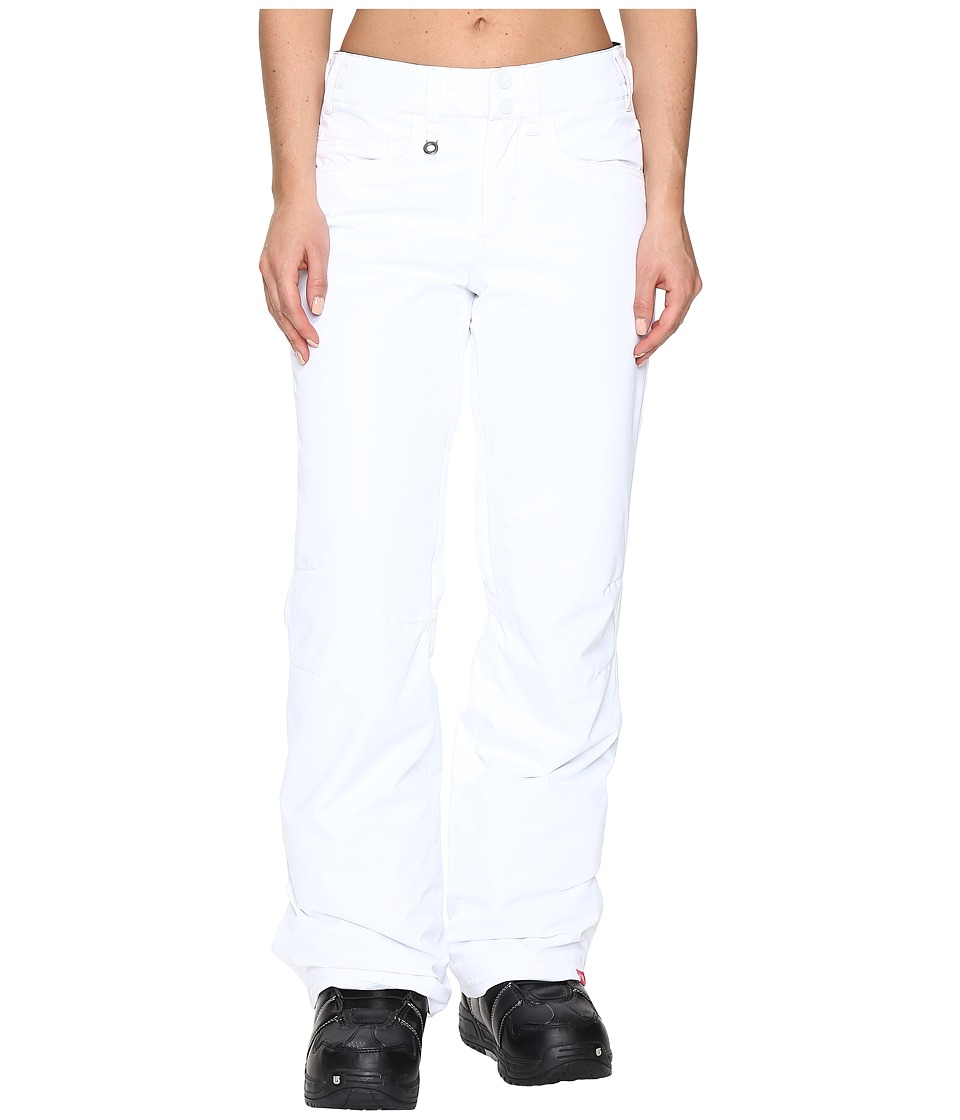 Roxy - Backyard Pant (Bright White 1) Women's Outerwear