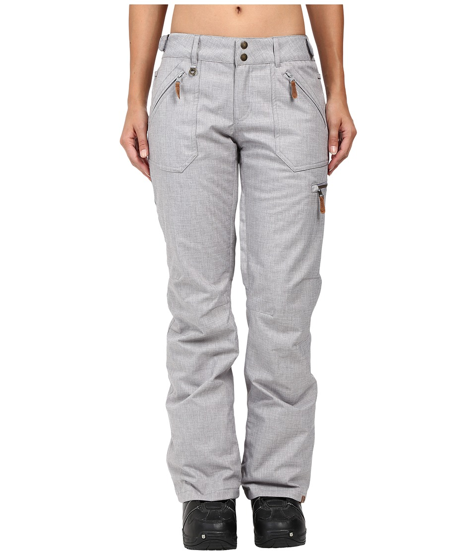 Roxy - Nadia Pant (Mid Heather Grey) Women's Casual Pants