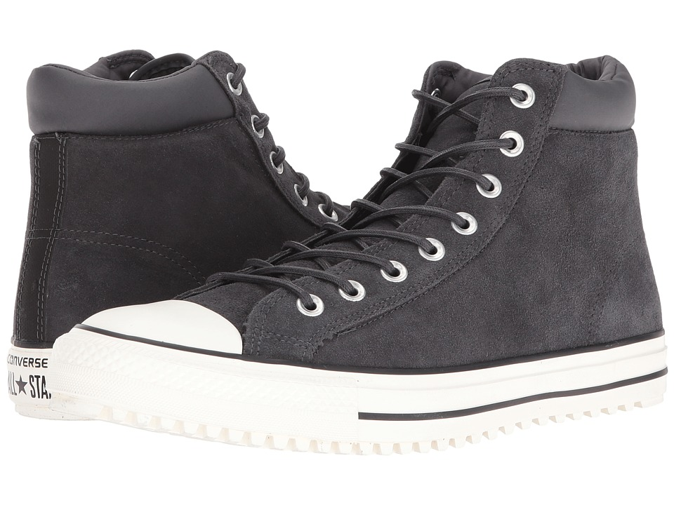 Converse - Chuck Taylor All Star Converse PC Boot Hi (Almost Black/Egret/Black) Men's Shoes