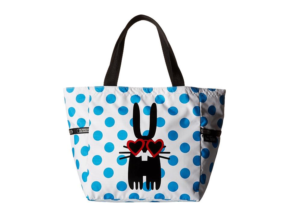 LeSportsac - Small Picture Tote (Brian) Tote Handbags