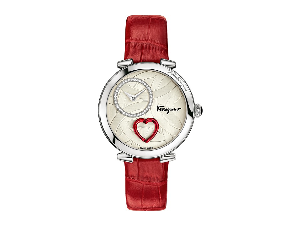 Salvatore Ferragamo - Cuore Ferragamo FE203 0016 (Stainless Steel/Red) Watches